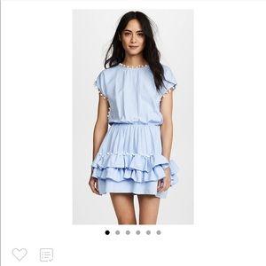 Light blue Pom Pom dress